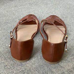 Paprika Shoes - Paprika Women Gladiator Closed Toe Tan Sandals